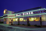Neon Diner in the Four-Corners Area of Colorado, New Mexico, Utah & Arizona © Faith Bemiss